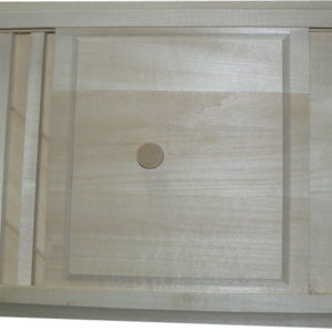 Вентиляционная решетка с задвижкой большая