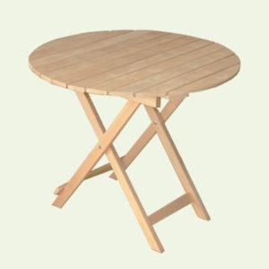 Стол раскладной круглый